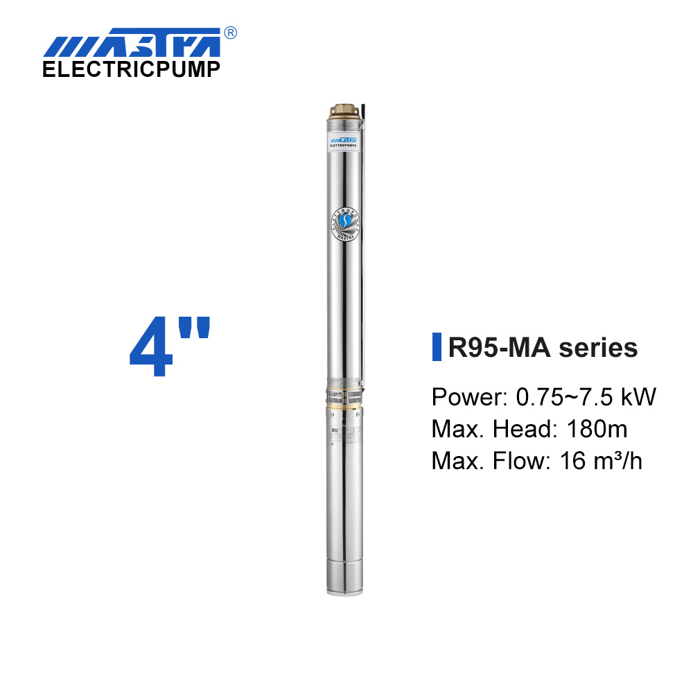 Mastra 4 inch submersible pump - R95-MA series new water pump