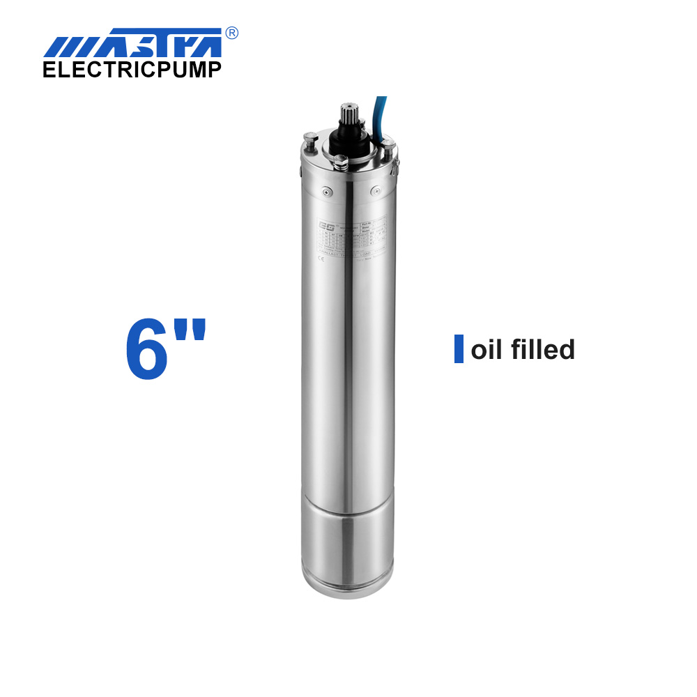 "60Hz 6"" Oil Cooling Submersible Motor deep well pump maintenance"
