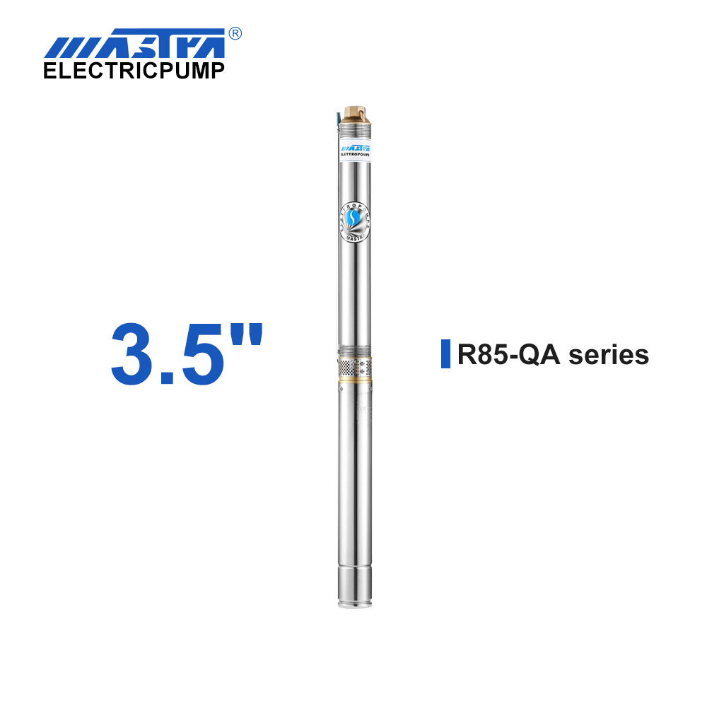 60Hz Mastra 3.5 inch submersible pump - R85-QA series well pump system